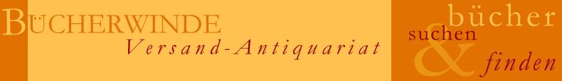 Bücherwinde Ruth Morel - Versand-Antiquariat - Bücher suchen und finden